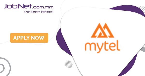 Area Sales Manager ( For Rakhine State ) | MyTel