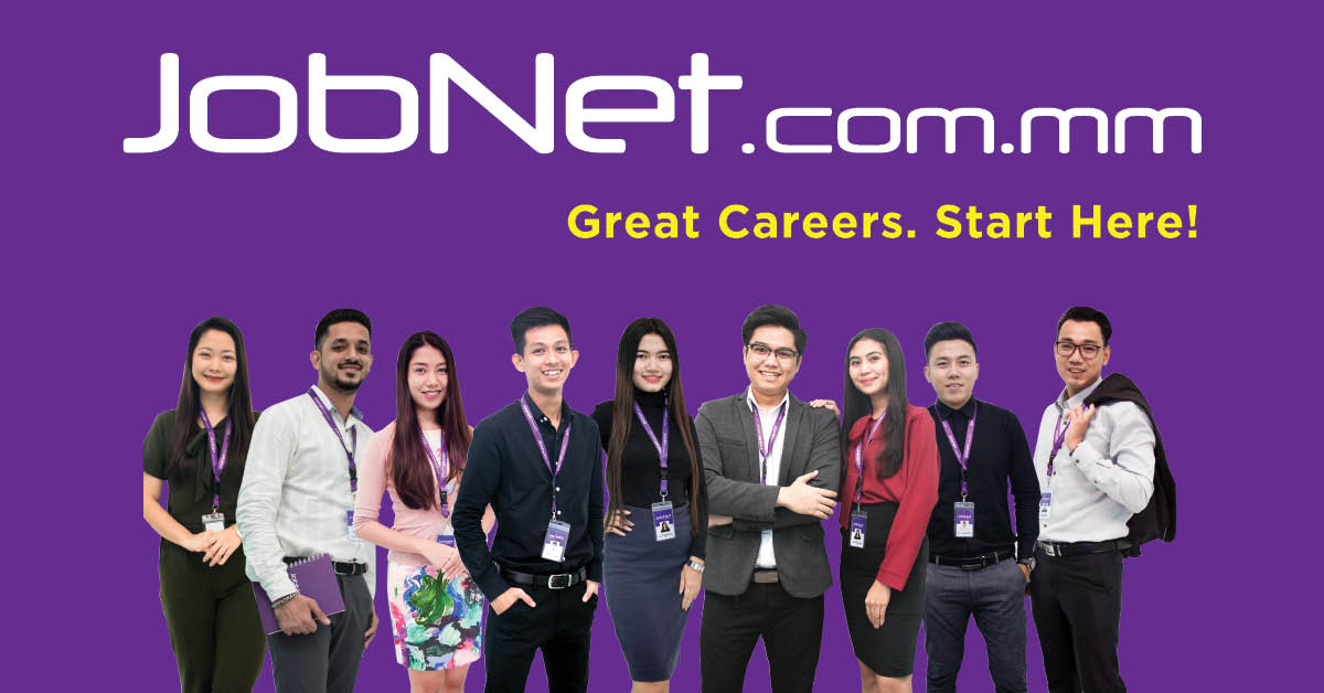 JobNet com mm | Myanmar no 1 Jobs, Vacancies and Career site